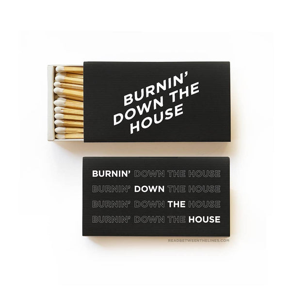 Burnin' Down Matchbox - by OKcollective Candle Co. Made in Oklahoma City