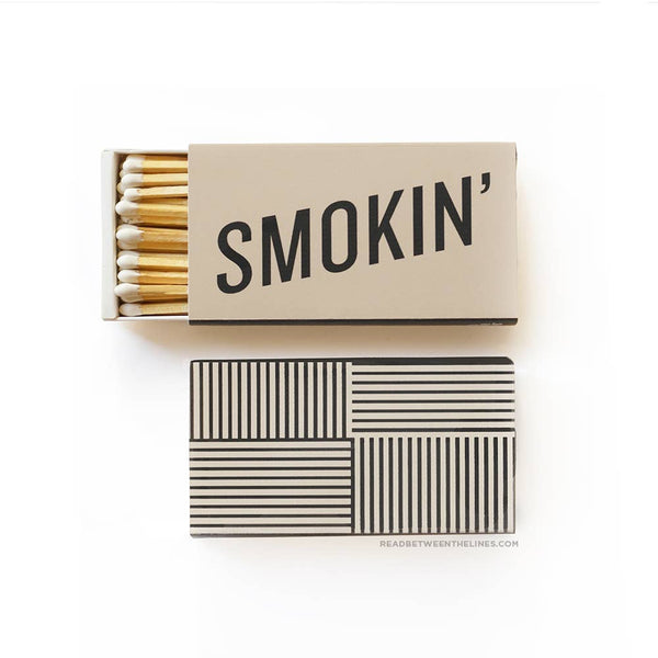 Smokin' Large Matchbox - by OKcollective Candle Co. Made in Oklahoma City