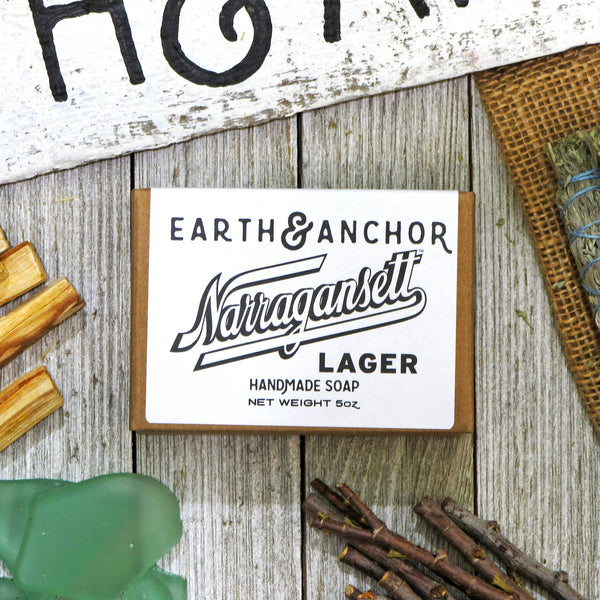 Narragansett Beer Soap - by OKcollective Candle Co. Made in Oklahoma City