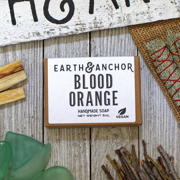 Blood Orange Soap - by OKcollective Candle Co. Made in Oklahoma City