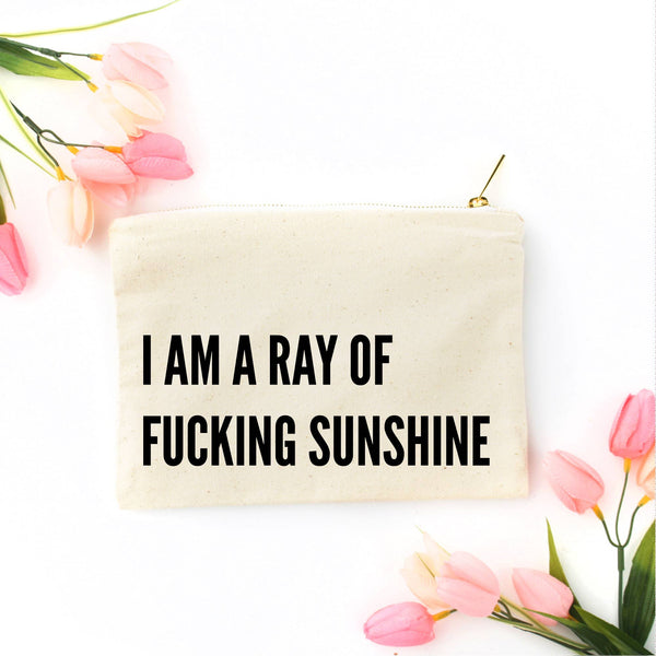 Ray of Fucking Sunshine Bag - by OKcollective Candle Co. Made in Oklahoma City