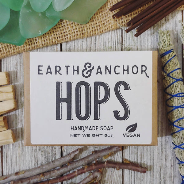 Hops Soap - by OKcollective Candle Co. Made in Oklahoma City