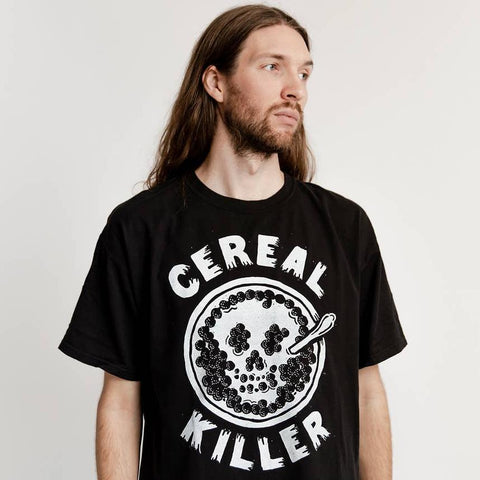 Cereal Killer Mens Tee - by OKcollective Candle Co. Made in Oklahoma City