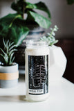 High Five Cannabis Soy Candle - by OKcollective Candle Co. Made in Oklahoma City