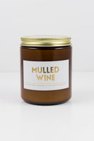 Mulled Wine Soy Candle - by OKcollective Candle Co. Made in Oklahoma City