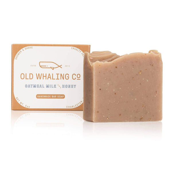 Oatmeal Milk + Honey Bar Soap - by OKcollective Candle Co. Made in Oklahoma City