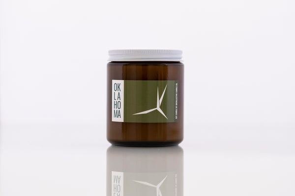 Oklahoma Scissortail Soy Candle - by OKcollective Candle Co. Made in Oklahoma City