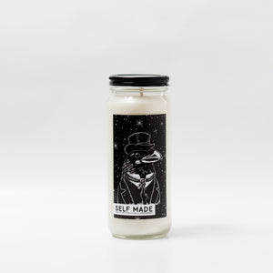 Self Made - Handmade Soy Candle by OKcollective Candle Co. Made in Oklahoma City