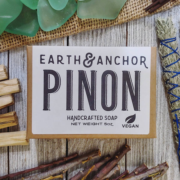 Pinon Pine Soap - by OKcollective Candle Co. Made in Oklahoma City