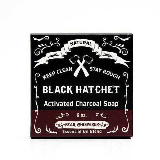 Bear Whisperer Charcoal Bar Soap - by OKcollective Candle Co. Made in Oklahoma City