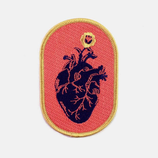 Black Heart Patch - OKcollective Candle Co.