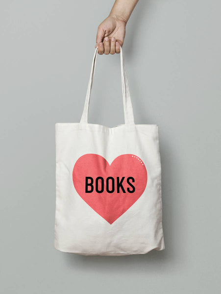 Book Lover Tote Bag - by OKcollective Candle Co. Made in Oklahoma City