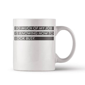 Look Busy Mug - by OKcollective Candle Co. Made in Oklahoma City