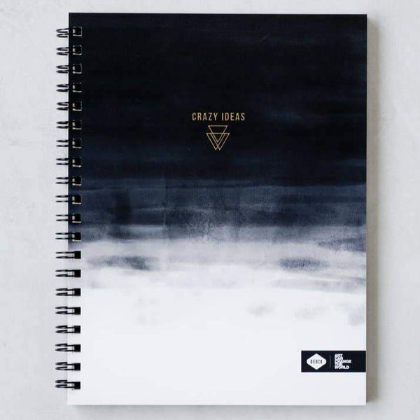 Crazy Ideas Spiral Notebook - OKcollective Candle Co.