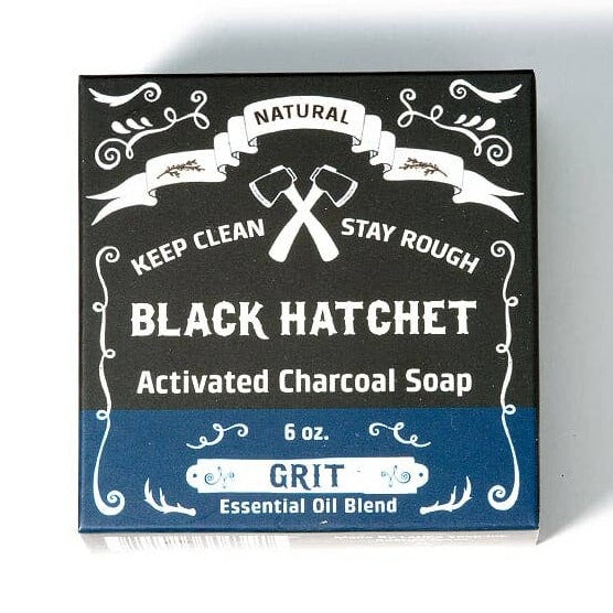 Grit Charcoal Bar Soap - OKcollective Candle Co.