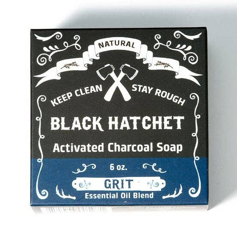 Grit Charcoal Bar Soap - by OKcollective Candle Co. Made in Oklahoma City