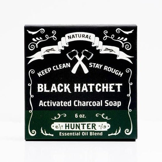 Hunter Charcoal Bar Soap - by OKcollective Candle Co. Made in Oklahoma City