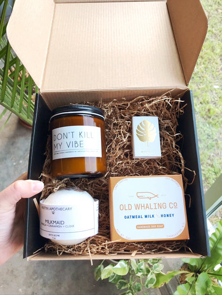 Calm Gift Box - by OKcollective Candle Co. Made in Oklahoma City