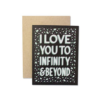 Infinity & Beyond Card - by OKcollective Candle Co. Made in Oklahoma City