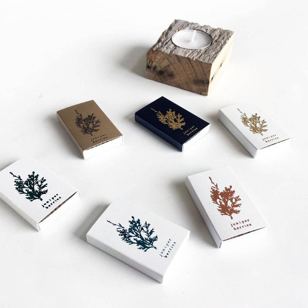 Juniper Berries Mini Matchbox