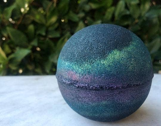 Moon Child Large Bath Bomb - by OKcollective Candle Co. Made in Oklahoma City