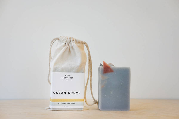 Ocean Grove Bar Soap - by OKcollective Candle Co. Made in Oklahoma City