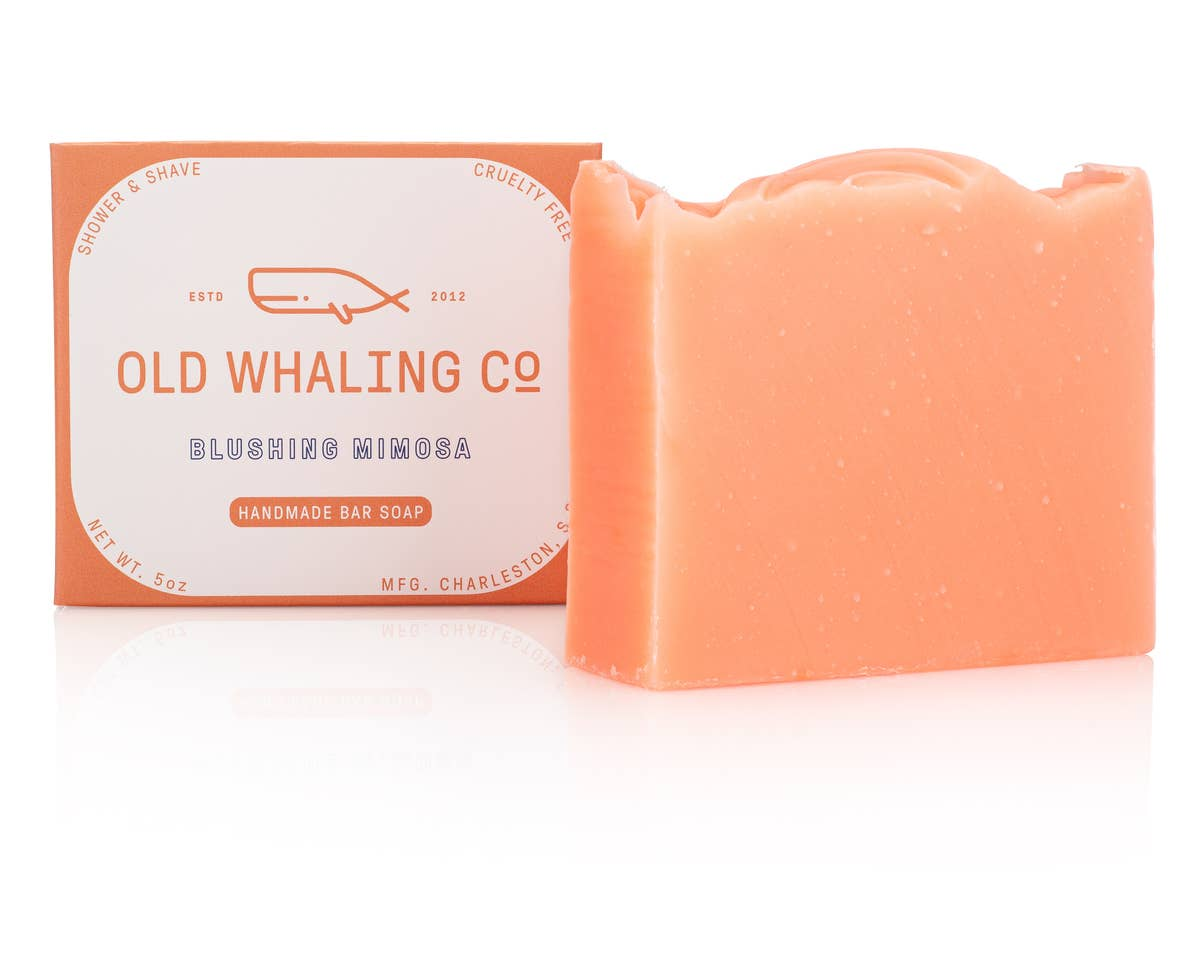 Blushing Mimosa Soap - by OKcollective Candle Co. Made in Oklahoma City