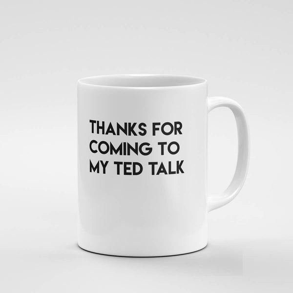 Ted Talk Mug - by OKcollective Candle Co. Made in Oklahoma City