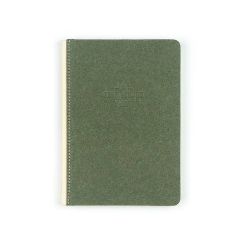 Travel Canvas Bound Keep Record Olive Journal - by OKcollective Candle Co. Made in Oklahoma City