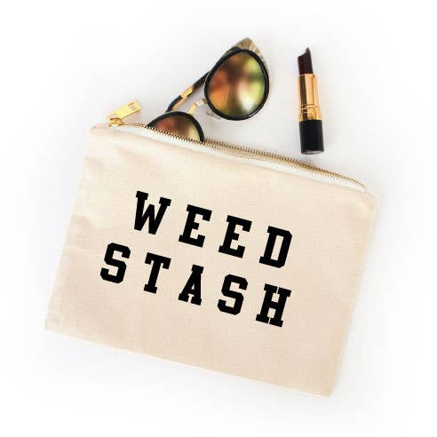 Weed Stash Bag - by OKcollective Candle Co. Made in Oklahoma City