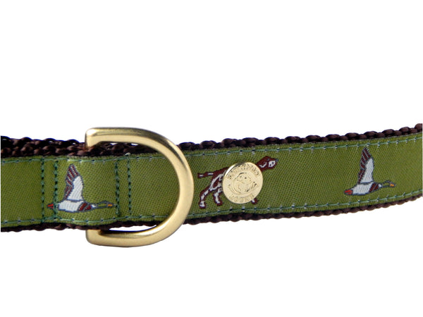 Hunting Preppy Made in America Dog Collar
