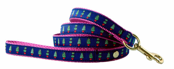 Topiary Preppy Dog Collar