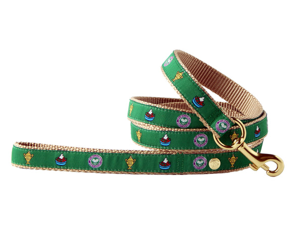 Wimbledon Preppy Tennis Dog Leash