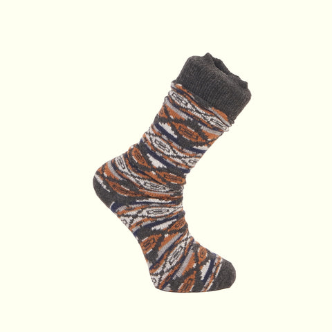 American Trench Oregon City Blanket Charcoal Socks