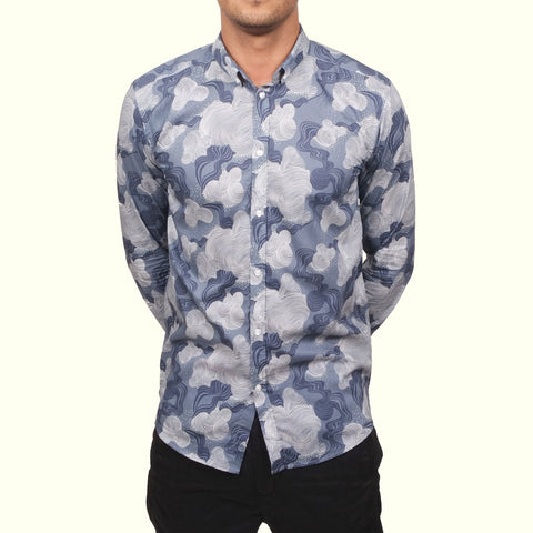 Journal Brit Liberty Flow Shirt Grey