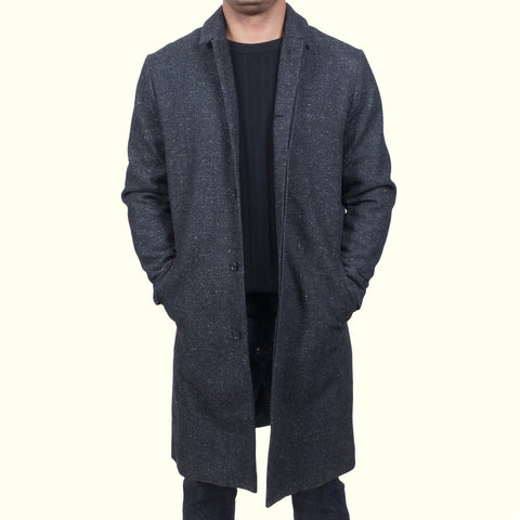 Journal Grave Coat Grey