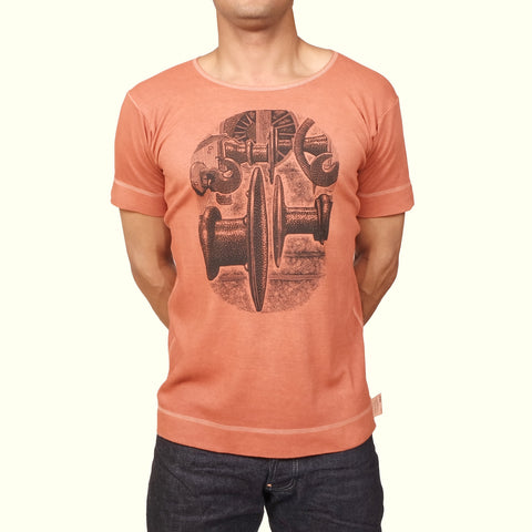 Tender Hemmed T-shirt Ochre Buffers