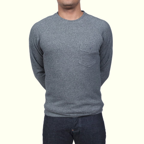 Human Scales Carlos Pocket Sweater Charcoal