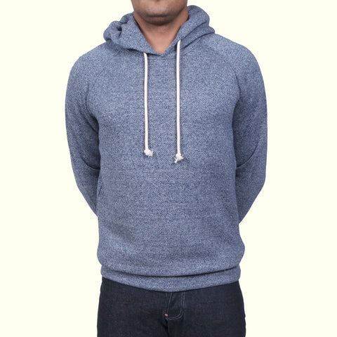 Human Scales Hans Hooded Sweater Blue