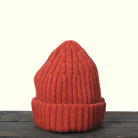 Human Scales John Beanie Orange