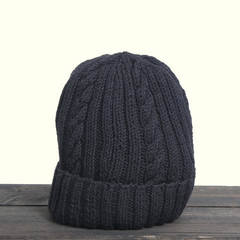 Inverallan 22f Hat Black Denim