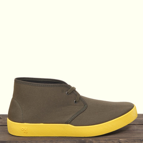 Oli 13 Chukka Dark Green/Yellow Sole