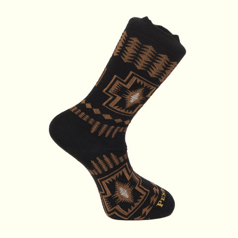 Pendleton Socks Harding Black