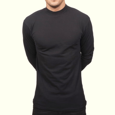 Journal Straight Turtle Neck Black