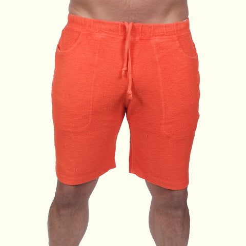 Jungmaven Yama Shorts Fire Red