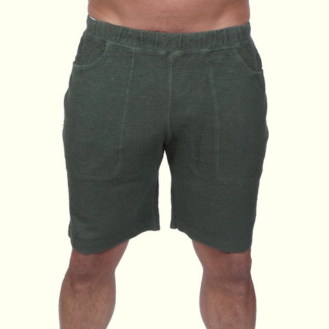 Jungmaven Yama Shorts Forest Green