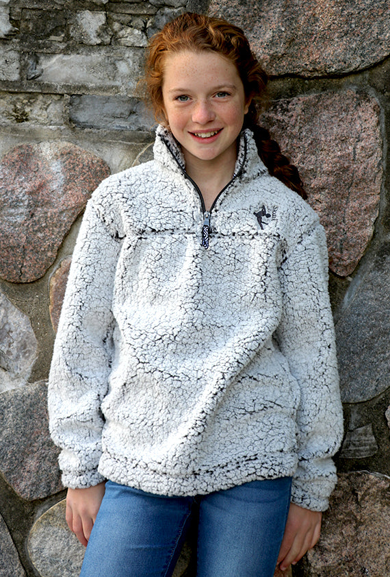 Skater 1/4 Zip Sherpa Pullover (Youth)