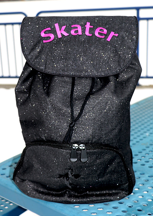 Skater Glitter Backpack