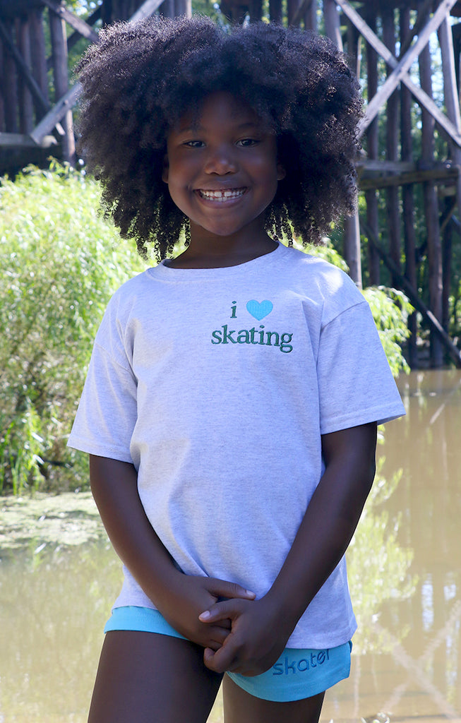 I Love Skating Tee (Youth)