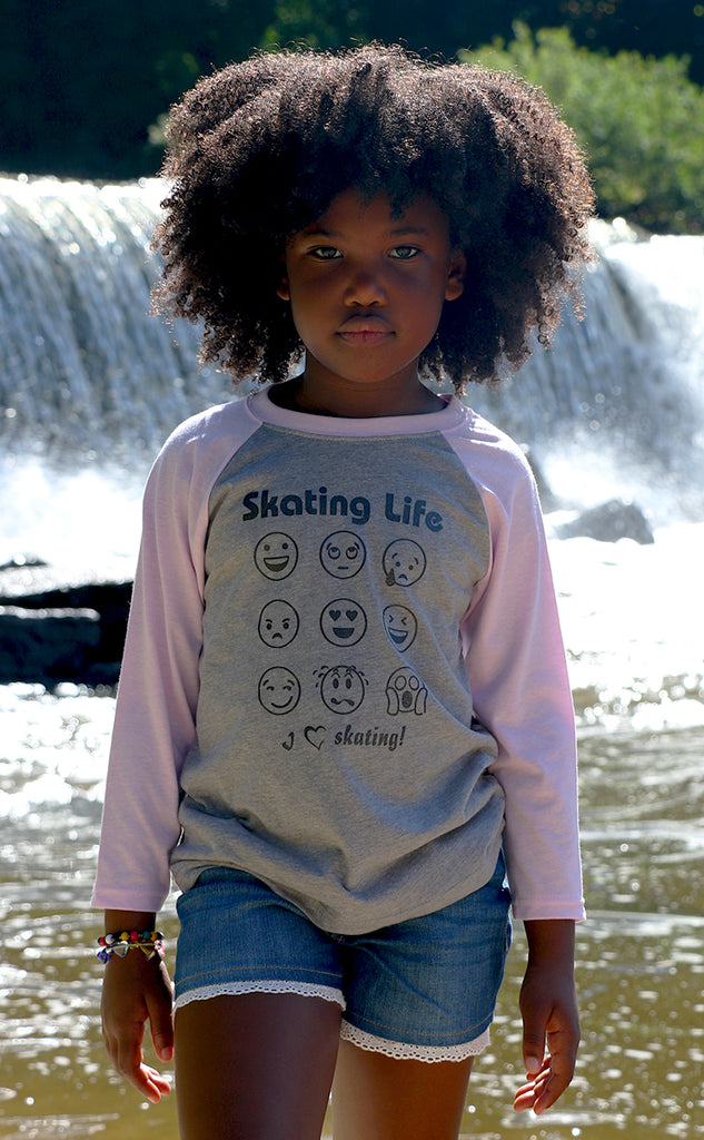 Skating Life Emoji Tee (Youth)